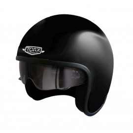CASQUE JET CUSTOM TORX HARRY NOIR MAT