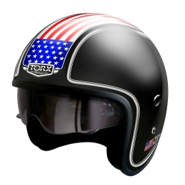 CASQUE JET CUSTOM TORX WYATT HARRY USA