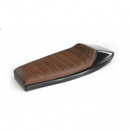 SELLE MOTO DIRT DARK BROWN