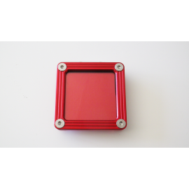 SUPPORT VIGNETTE ASSURANCE PLAT CARRE ROUGE
