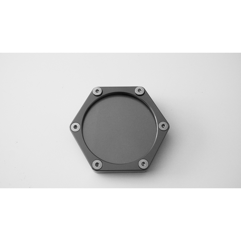 support vignette assurance moto plat hexagonale titane en livraison gratuite en france. Black Bedroom Furniture Sets. Home Design Ideas