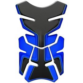 PROTECTION RESERVOIR MOTO SUZUKI FAB-G CARBONE BLEU