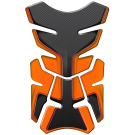 PAD RESERVOIR FAB-M CARBONE/ORANGE