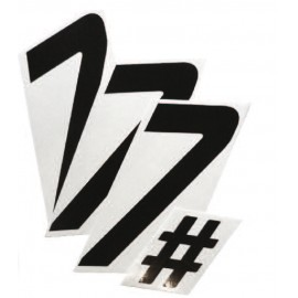 NUMEROS COURSE CROSS PACK BLANC : 2