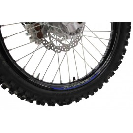 "STICKERS JANTE Z-WHEEL 21"" BLEU"