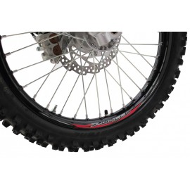 "STICKERS JANTE Z-WHEEL 21"" ROUGE"