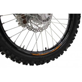 "STICKERS JANTE Z-WHEEL 21"" ORANGE"