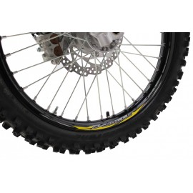 "STICKERS JANTE Z-WHEEL 17"" 19"" JAUNE"