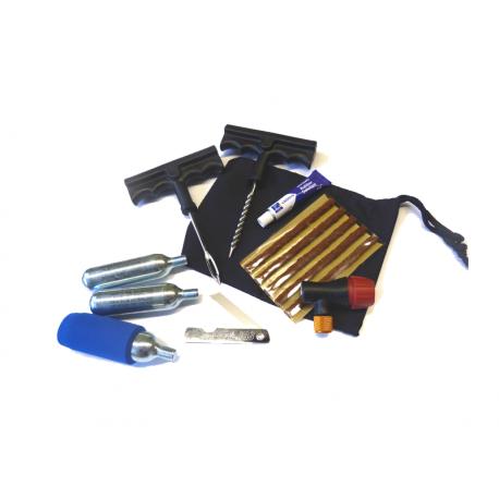 kit reparation tubeless avec cartouche en livraison gratuite en france m tropolitaine. Black Bedroom Furniture Sets. Home Design Ideas