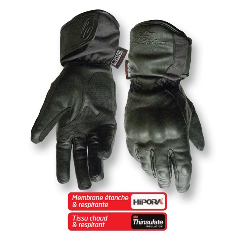 gants moto hiver mitsou vio homme homologue ce hipora thinsulate en livraison gratuite en france. Black Bedroom Furniture Sets. Home Design Ideas