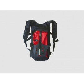 SAC A DOS ENDURO CROSS  NOIR / ROUGE