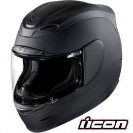 CASQUE ICON AIRMADA RUBATONE BLACK MATT