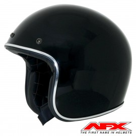CASQUE MOTO AFX JET VINTAGE 3/4 SPEED RACER RUST GOLD MAT