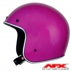 CASQUE MOTO AFX JET VINTAGE 3/4 METAL FLAKE BLACK