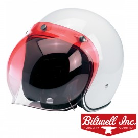 VISIERE BULLE BITWELL 3 PRESSIONS ROUGE