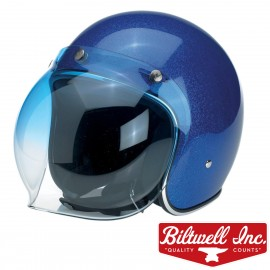 VISIERE BULLE BITWELL 3 PRESSIONS BLEU