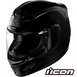 CASQUE INTEGRAL MOTO ICON AIRMADA BLACK BRILLANT