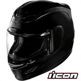 CASQUE INTEGRAL MOTO ICON AIRMADA BLACK BRILLANT