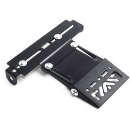 SUPPORT DE PLAQUE MOTO UNIVERSEL