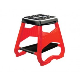 TABOURET MOTO CROSS ENDURO ROUGE