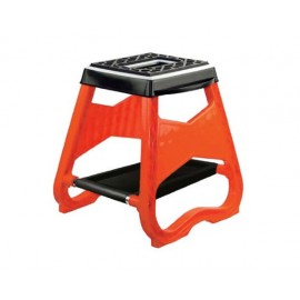 TABOURET MOTO CROSS ENDURO ORANGE