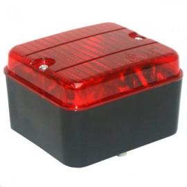 Antibrouillard arrière rouge 87x77x