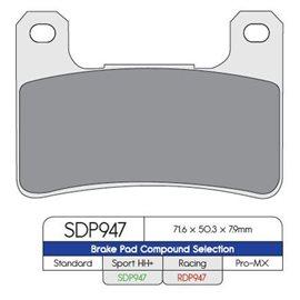 PLAQUETTES DE FREIN AVANT SPORT SUZUKI GSX-R 750 X 2005