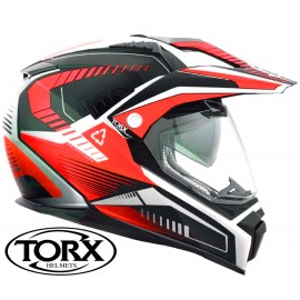 CASQUE MOTO CROSS ENDURO DUNDEE V RED