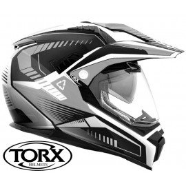 CASQUE MOTO CROSS ENDURO DUNDEE V BLACK