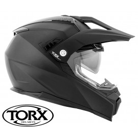CASQUE MOTO CROSS ENDURO DUNDEE BLACK MAT
