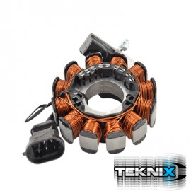 STATOR SCOOTER TEKNIX ADAPTABLE NRG RUNNER (PURE JET) SR50 DI-TECH POUR MODELE INJECTION
