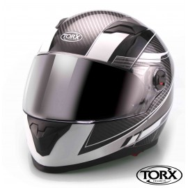 CASQUE INTEGRAL MOTO CLINT NOIR