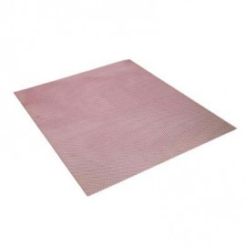 GRILLE DE PROTECTION ALU 29X35 ROUGE