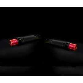 EMBOUT DE GUIDON ROUGE YAMAHA MT07 2014+
