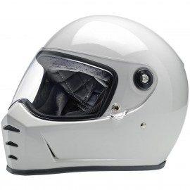 CASQUE MOTO BILTWELL LANE SPLITTER BLANC BRILLANT