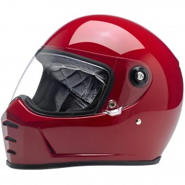 CASQUE MOTO BILTWELL LANE SPLITTER ROUGE BRILLANT