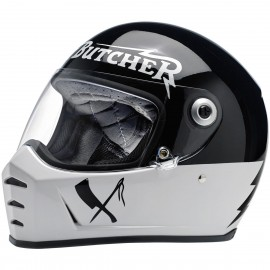 CASQUE MOTO BILTWELL LANE SPLITTER RUSTY BUTCHER