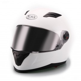 CASQUE INTEGRAL MOTO CLINT BLANC BRILLANT