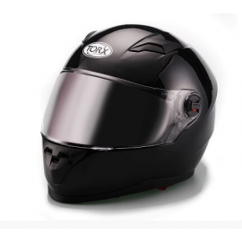 CASQUE INTEGRAL MOTO CLINT NOIR BRILLANT