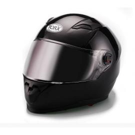 CASQUE INTEGRAL MOTO CLINT NOIR BRILLANT