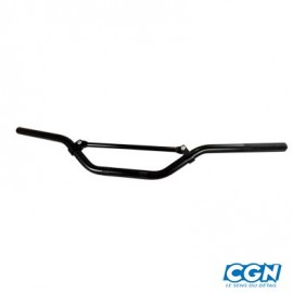 GUIDON TUN'R MOTO CROSS RACING ALU NOIR (L740) H 70