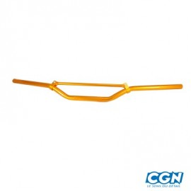 GUIDON TUN'R MOTO CROSS ALU ORANGE (L810) H55
