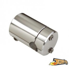POTENCE SCOOTER TUN'R ADAPT. TYPHOON/NRG DROITE ARGENT (P/GUIDON D22MM)