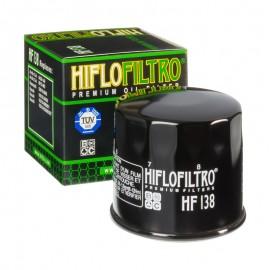 FILTRE A HUILE MOTO HIFLOFILTRO HF138