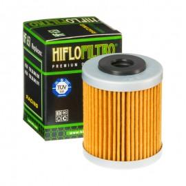 FILTRE A HUILE MOTO HIFLOFILTRO HF651