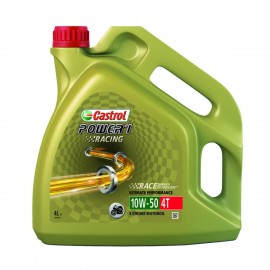 HUILE MOTO CASTROL POWER 1 RACING 4T 10W50 4L