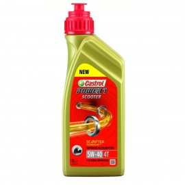 HUILE MOTO CASTROL POWER 1 SCOOTER 4T 5W40 1L