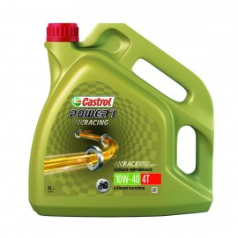 HUILE MOTO CASTROL POWER 1 RACING 4T 10W40 4L