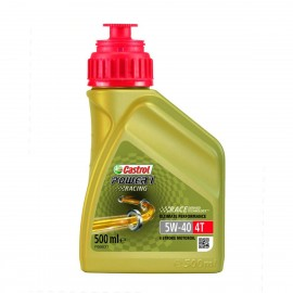 HUILE MOTO CASTROL POWER 1 RACING 4T 5W40 500ml