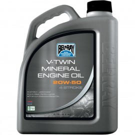 OIL VTWIN 20W50 4L